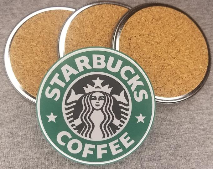 Starbucks Coffee coaster set, coffee coaster set, hot coffee coasters, coffee coasters, non slip coffee coasters, Starbucks drink coasters