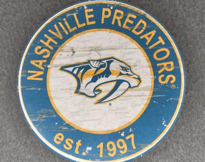 Nashville Predators Mirror, Nashville Predators logo Mirror, NHL sports team mirror, NHL sport team mirror, NHL travel sport mirror
