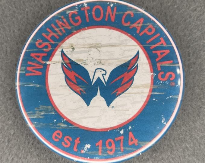 Washington Capitals Mirror, Washington Capitals logo Mirror, NHL sports team mirror, NHL sport team mirror, NHL travel sport mirror