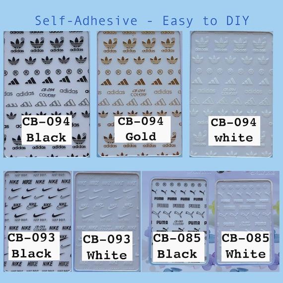 Bundles of Nail Stickers, Self-Adhesive - Easy to DIY