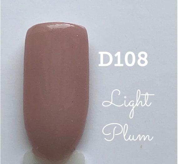 Nail Dip Powder .34 oz, Light Plum-D108