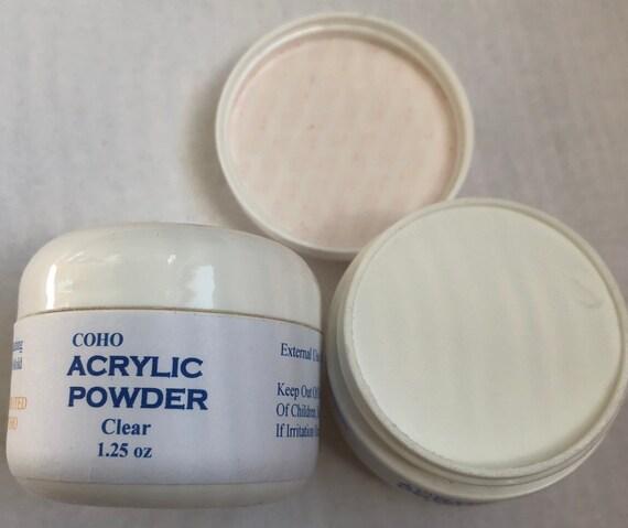 Acrylic Powder 1.25 Oz( Clear Color)