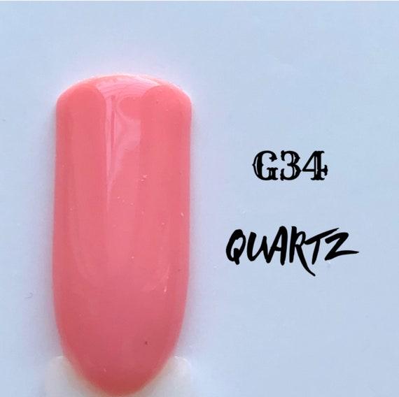 Quartz-G34, UV Gel Nail Polish 7.5ml (0.26 fl.oz)