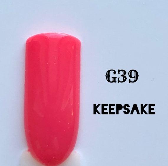 Keepsake-G39, UV Gel Nail Polish 7.5ml (0.26 fl.oz)