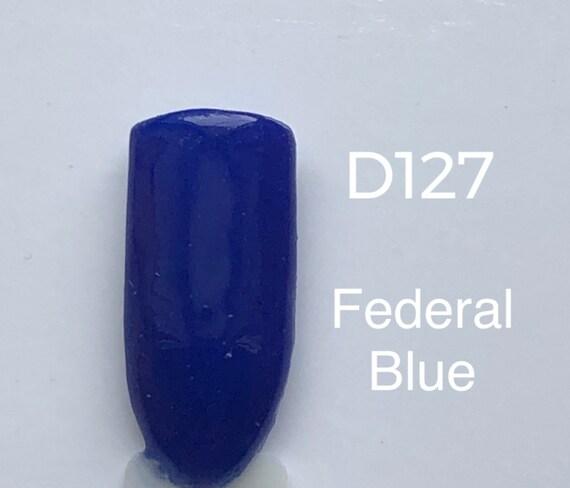 Nail Dip Powder .34 oz, Federal Blue-D127