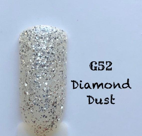 Diamond Dust-G52, UV Gel Nail Polish 7.5ml (0.26 fl.oz)