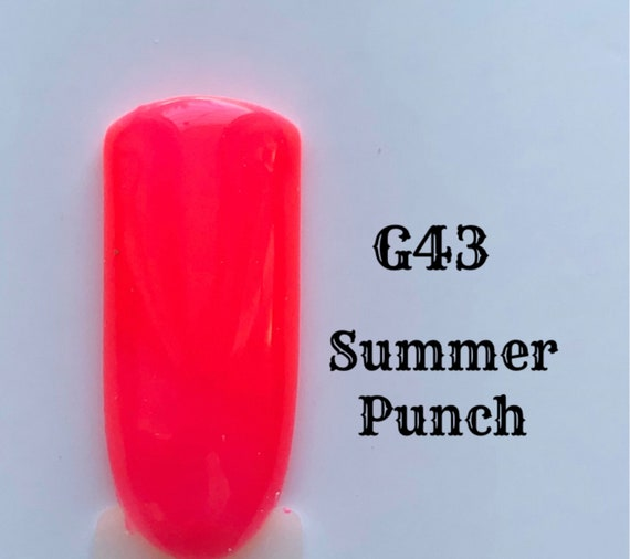 Summer Punch-G43, UV Gel Nail Polish 7.5ml (0.26 fl.oz)