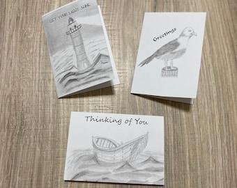 Seaside Notecards