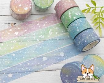 Star points Precious Washi tape Sample 1 x 1 m