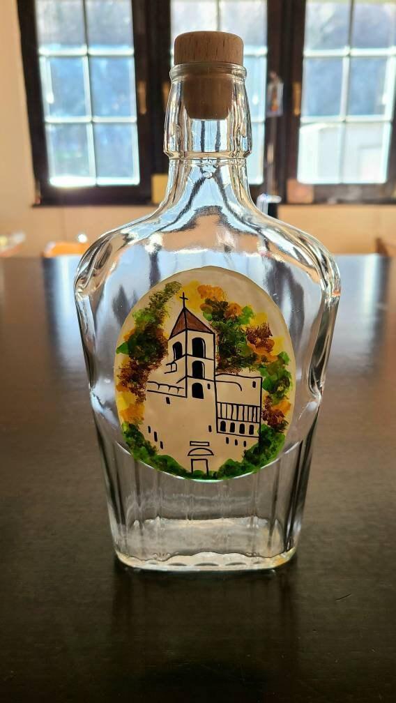 Ostrog Brandy Bottle