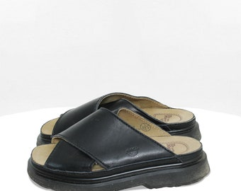 peep toe oxfords for women Open toe black leather sandals woman black summer shoes the Hangman Peep Toe by Sample Line