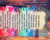 Bleached Gildan Heather Series Color Wheel Shirt Mock-up, DIGITAL FILE ONLY