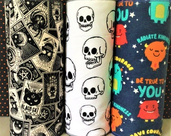 """Halloween ECO-FRIENDLY REUSABLE Unpaper Towels Washable and Strong Paperless Towels Cleaning Cloth 1-Ply 12-11""""x15"""" No More Waste"""