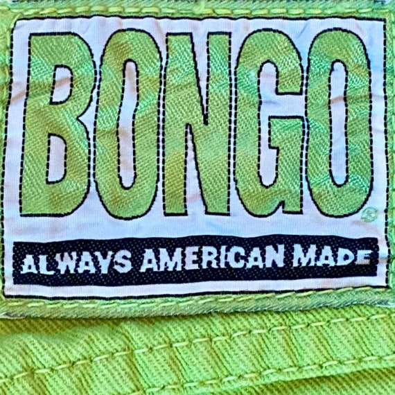 Vintage green high waisted BONGO jeans.