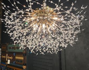 Crystal Chandelier Modern Ceiling light Lighting Fixture 8 Lights for Bedroom