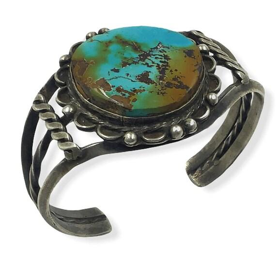 Navajo Old Pawn Turquoise Bracelet