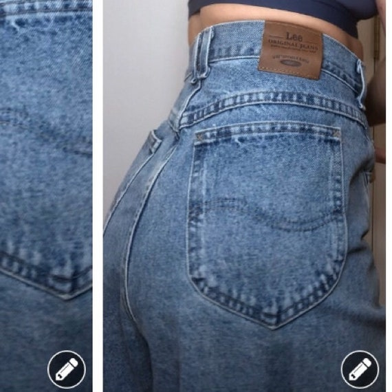 Vintage high waisted Lee mom jeans
