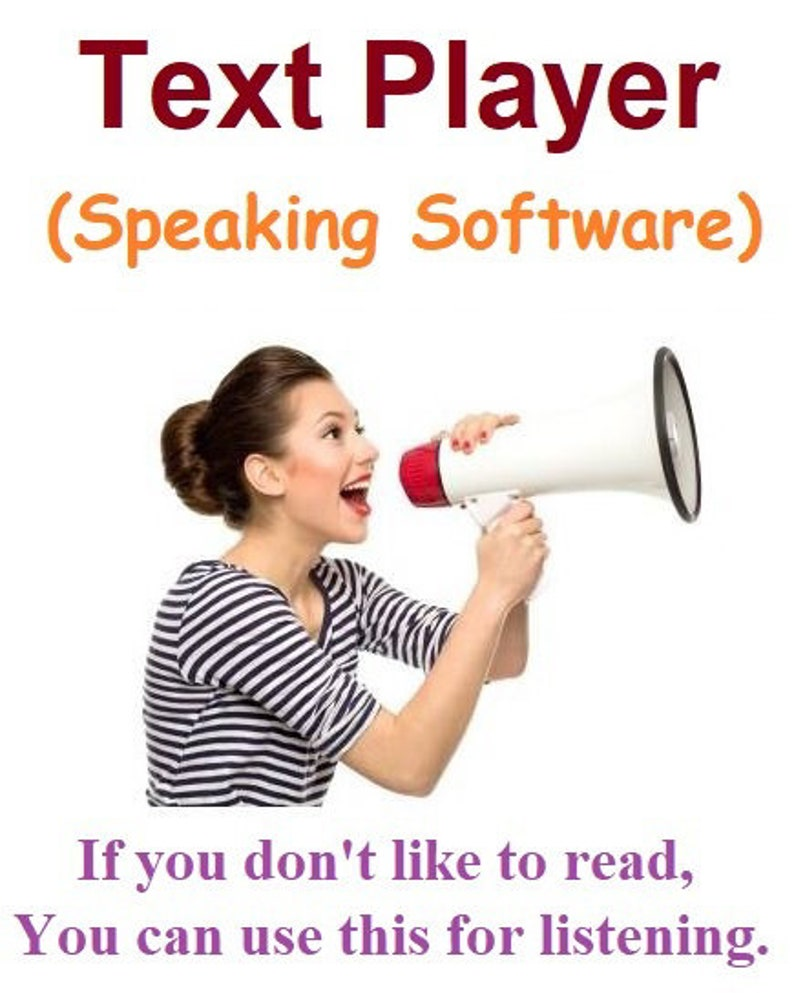 Text Player Speaking Software image 0