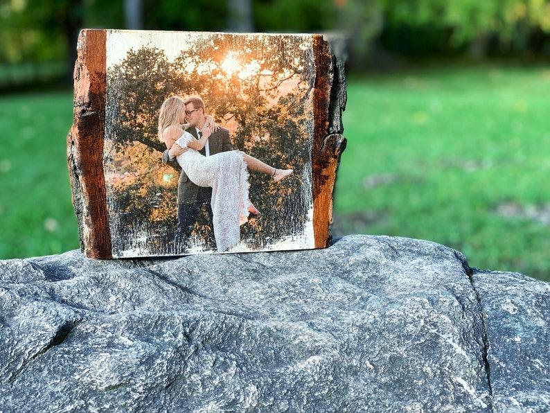 Euer Hochzeitsfoto auf Holz