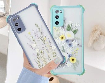 Clear Phone Case Samsung Galaxy S20 FE 4G5G,Not S20SM-G780F,Butterfly Collage Print,Light Weight,Flexible,Soft Touch Cover,Anti-Scratch