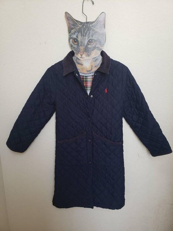 Quilted long Ralph Lauren coat