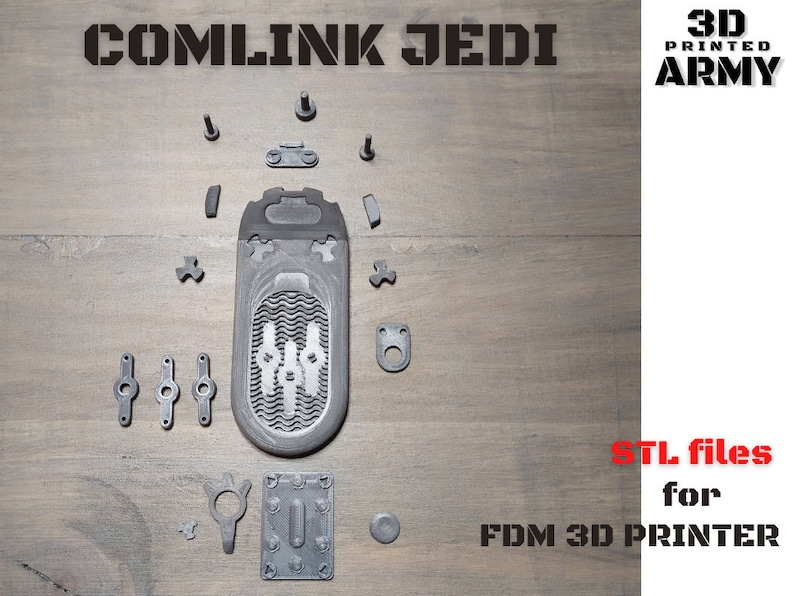 Comlink JEDI hush-98    3D Print STL files  Digital product without physical delivery