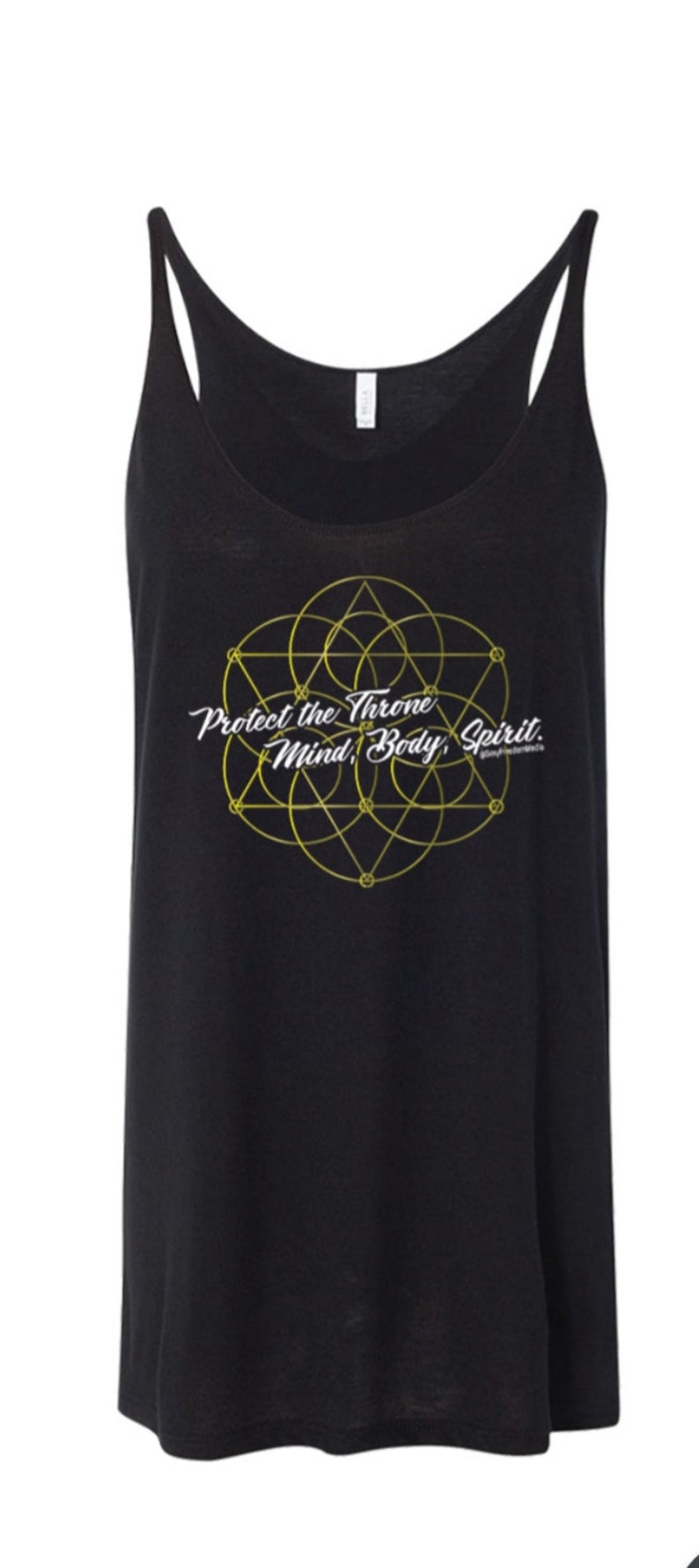 Protect the Throne Gold Tank