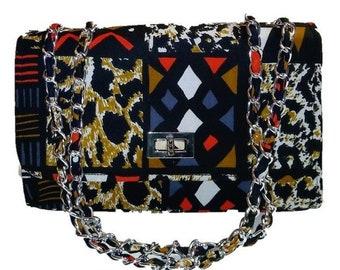 Ankara Handbag - African Print Handbag - African Purse - Ankara Purse - African Print Bag - Ankara Bag - African Print Bag - Crossbody Bag