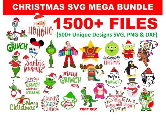 1500+ Christmas SVG Mega Bundle