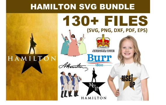 130+ Hamilton SVG Bundle