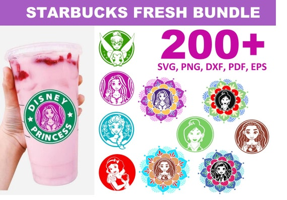 200+ Starbucks Fresh SVG Bundle