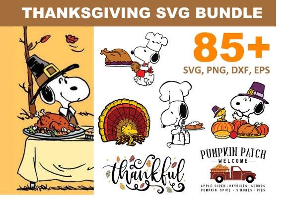 85+ Thanksgiving SVG Bundle