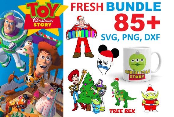 85+ Toy Story Bundle SVG, PNG, DXF