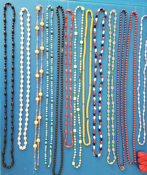 13 Flapper Necklaces