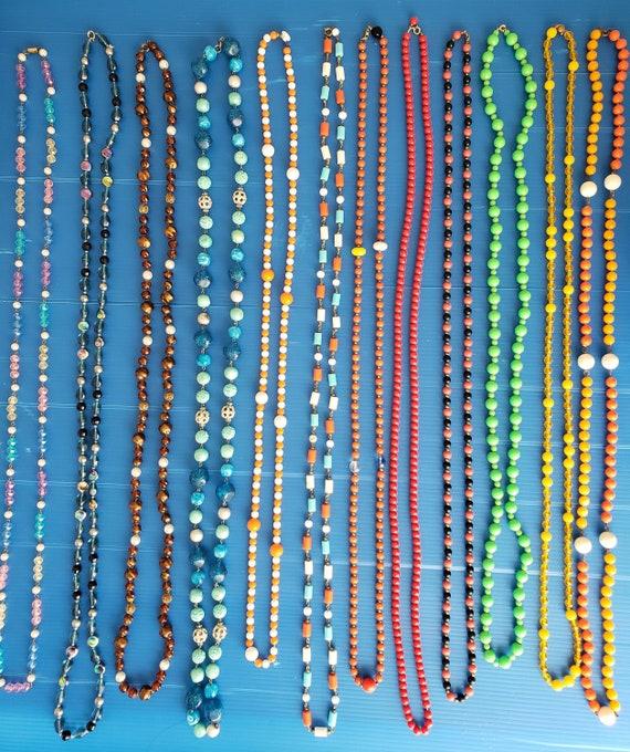 12 Flapper Necklaces