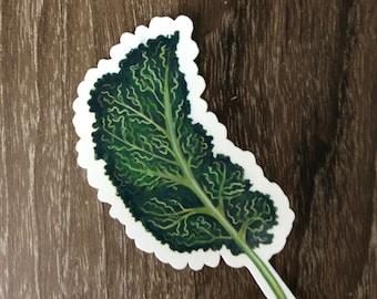 Waterproof Vinyl Kale Sticker