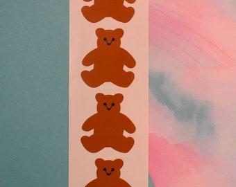10 Mrs Grossmans Animal Crackers Cake Stickers Party Birthday Lion Elephant Bear