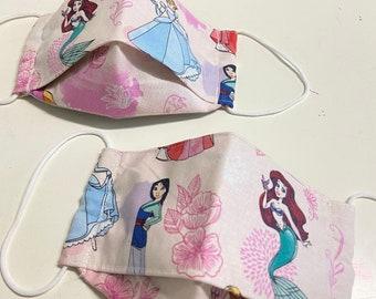 Princess inspired 3D Face Mask
