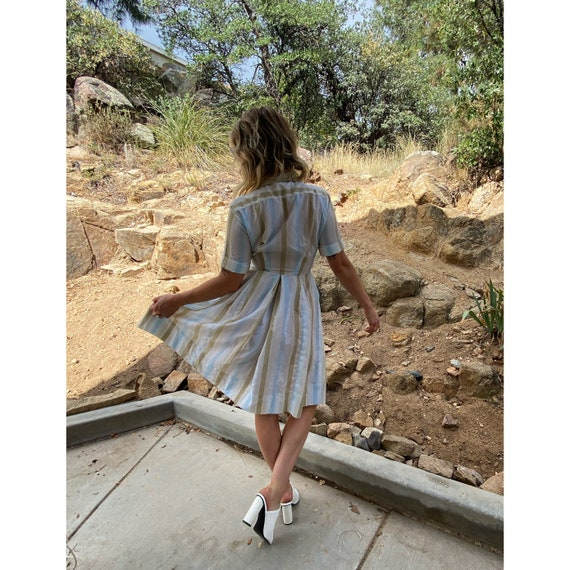 1940s dress, 1950s dress, 1940s house dress, 1950… - image 6
