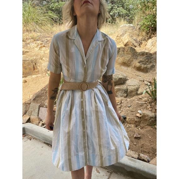1940s dress, 1950s dress, 1940s house dress, 1950s