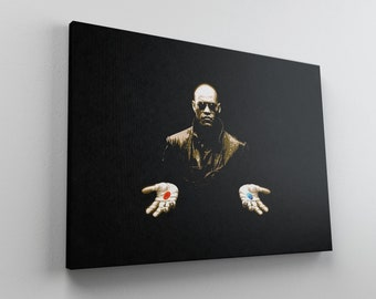 The Matrix Poster Picture Print Canvas Wall Art 76x50cm