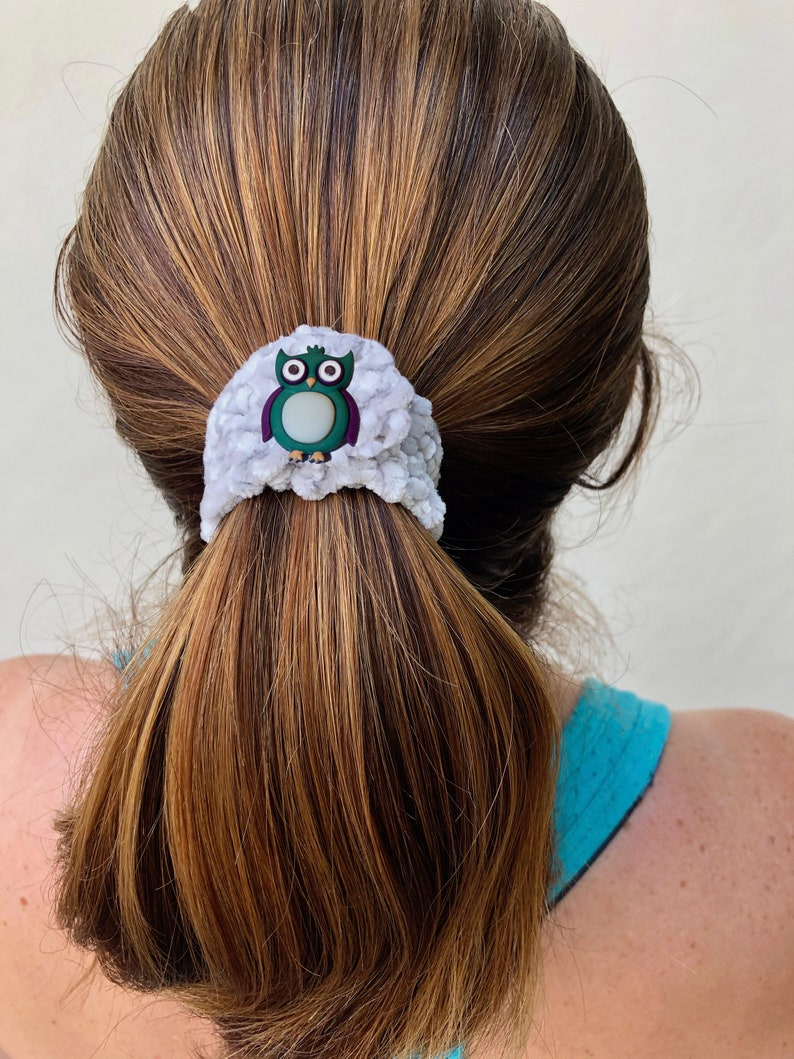 Amazing Animals Crochet Ponytail Elastic Cover