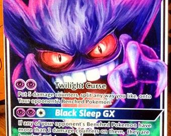 Custom Pokemon Card Gerritsen Gengar X