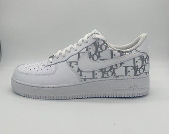 Custom Air Force 1 Gucci Etsy