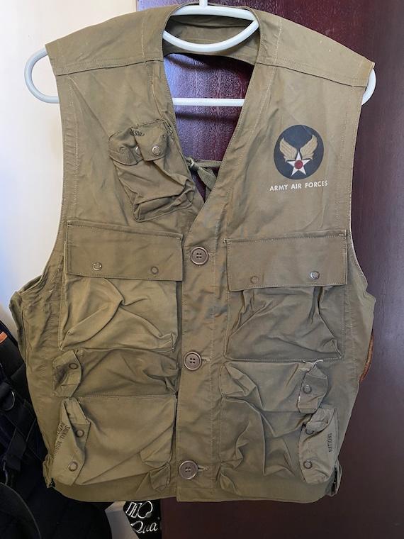 WW2 40s US Army C1 Survival Vest