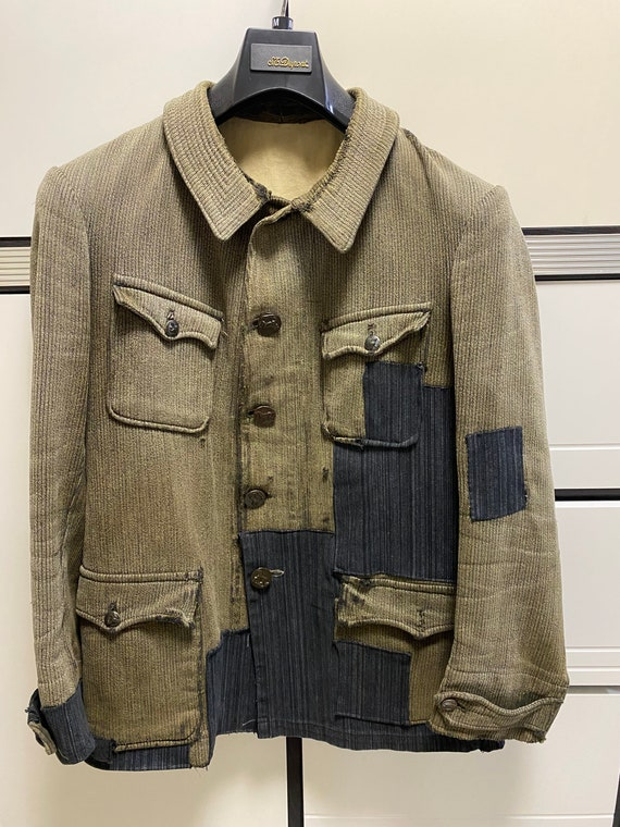 Vintage 1930s French hunting jacket