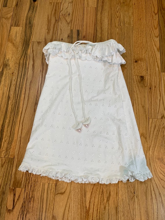 Juicy Couture vintage eyelet dress/coverup