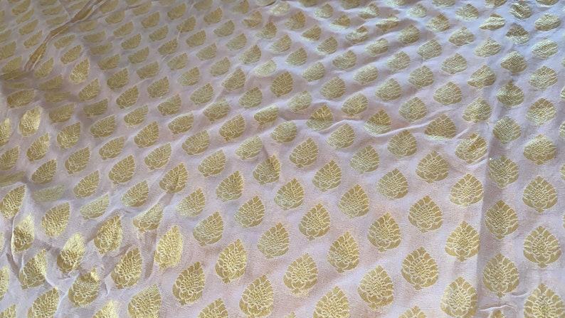 bridesmaids Gift for her Peach Saree wedding Saree handloom saree Christmas Gift Pure Georgette khaddi Banarasi saree gold zari saree