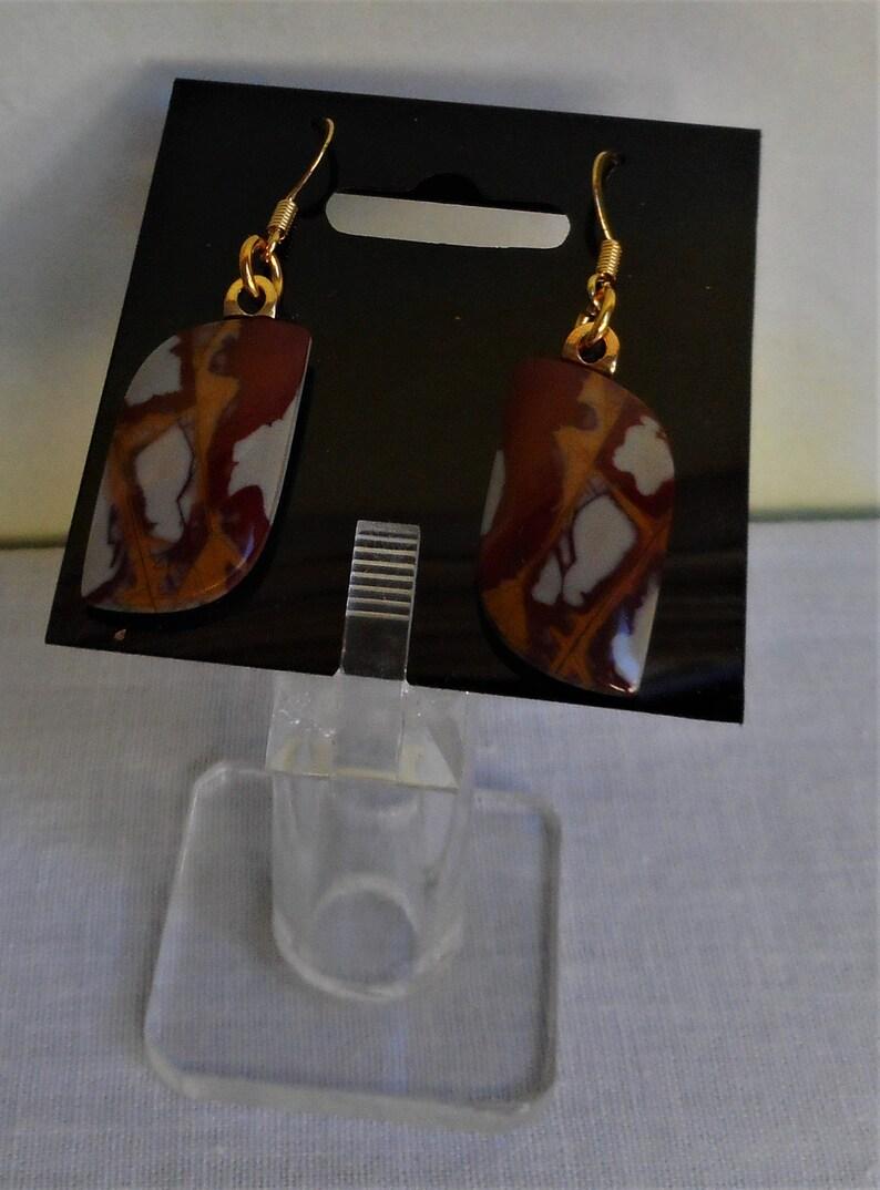 Noreena Jasper Earrings Set