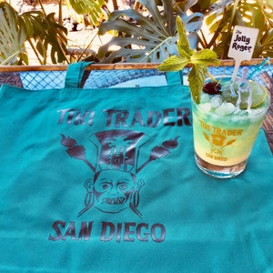 Goof on the Roof Limited Edition 1 Glass San Diego Tiki Bar Drinkware Tiki Cocktail Bali Hai Premier Tiki Trader Mai Tai Glass